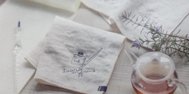 mydays 刺繍ハンカチ